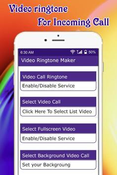 Video Ringtone Maker captura de pantalla 1