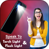 Voice Flashlight – Smart Torch on Speak icon