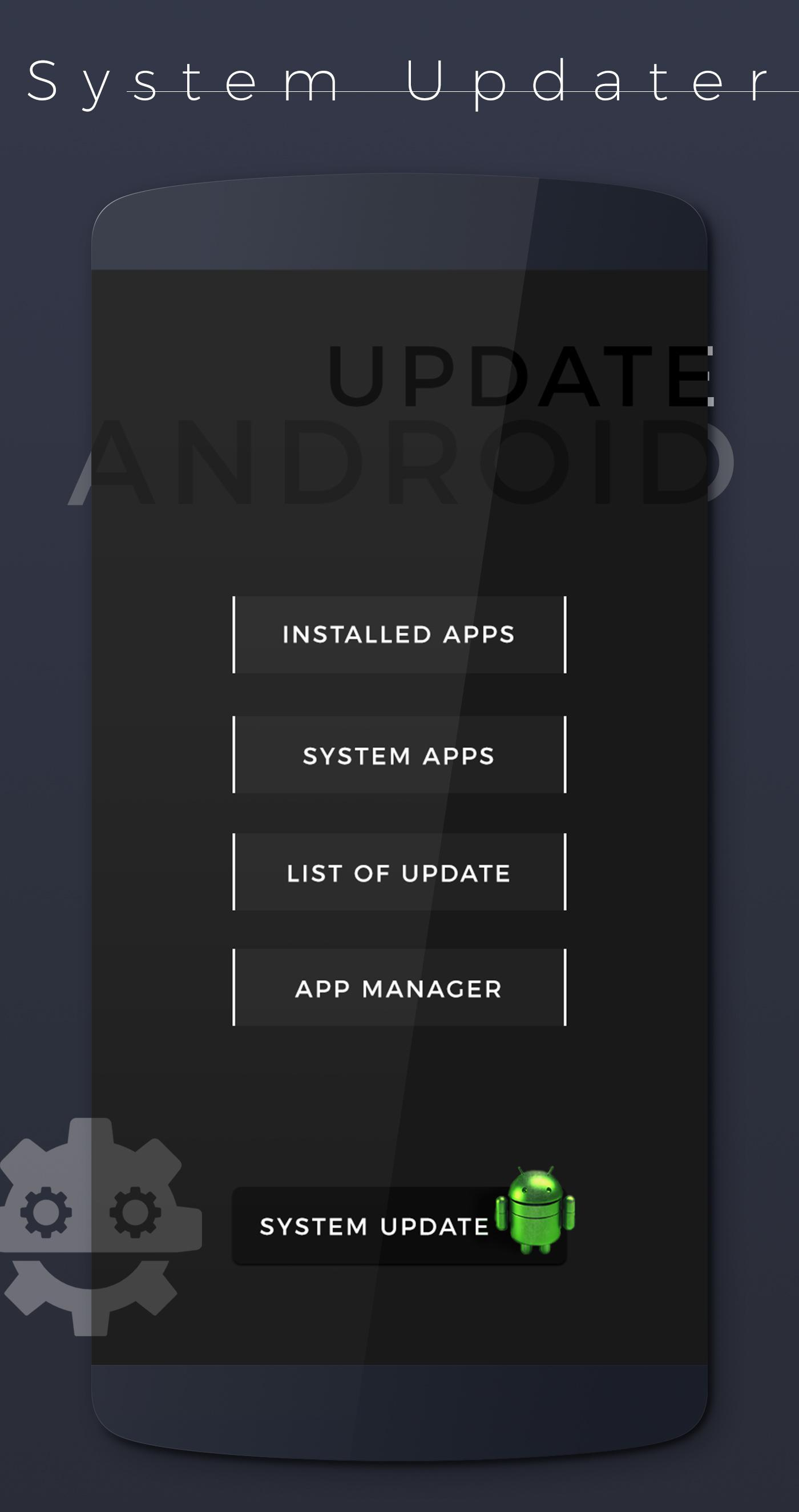Update Apps & System Software Update 2018 for Android - APK