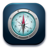 Compass with Maps & Direction icon