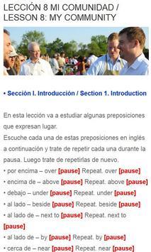 Curso Ingles Gratis apk screenshot