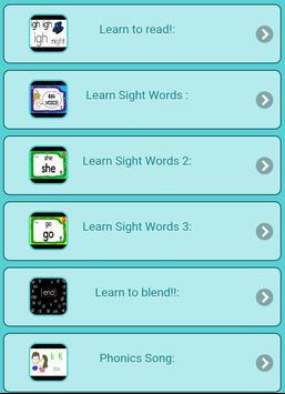 Learn to read screenshot 1