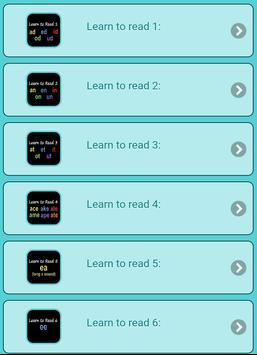 Learn to read screenshot 2