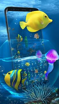 Aquarium Keyboard poster