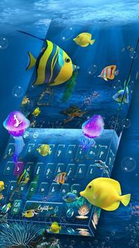 Aquarium Keyboard poster