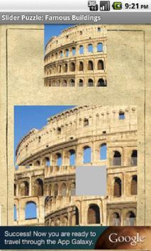 Sliding Puzzle: Buildings apk screenshot