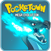 Pocketown:Mega Evolution icon