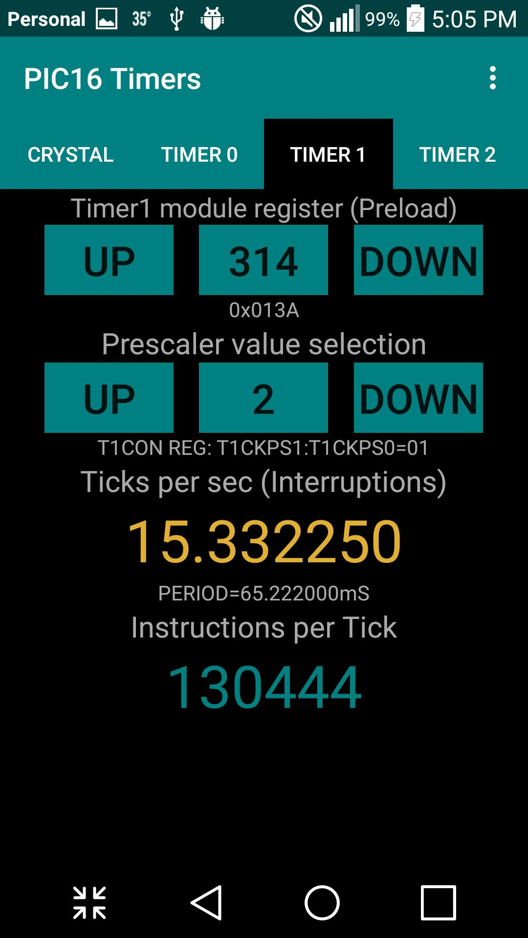 Pic16 Timers Calculator for Android - APK Download