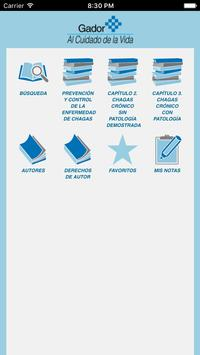 Enfermedad de Chagas-Mazza poster