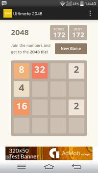 Ultimate 2048 poster