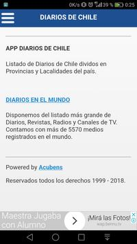 Diarios de Chile screenshot 1