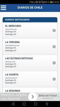 Diarios de Chile screenshot 2