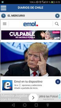 Diarios de Chile screenshot 3