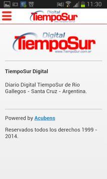Diario TiempoSur Digital apk screenshot