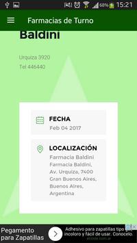 Farmacias de Turno - Olavarría screenshot 1