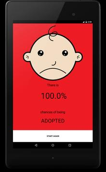 Are you Adopted? Find Out! apk screenshot