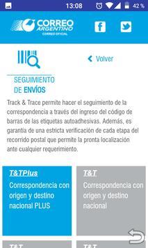Correo Argentino screenshot 2