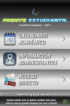 Frente Estudiantil FI poster