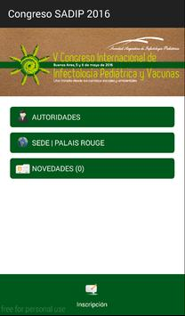 Congreso SADIP 2016 poster