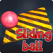 Sliding ball 3d icon