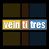 Revista Veintitres icon