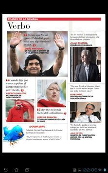 Revista Veintitres apk screenshot