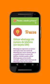 Fondos y trucos para Whatsapp apk screenshot