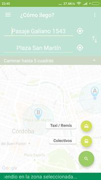 ¿Cómo llego? Córdoba apk screenshot