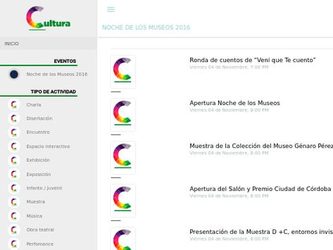 Agenda Cultural Córdoba Ciudad apk screenshot