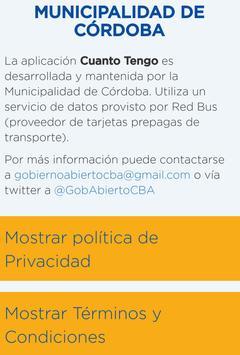 ¿Cuánto Tengo? Córdoba Ciudad screenshot 2