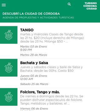 Agenda Turística de Córdoba poster