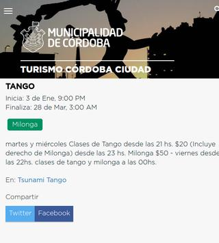 Agenda Turística de Córdoba screenshot 1