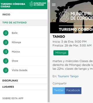Agenda Turística de Córdoba screenshot 2