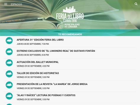 Feria del libro y el conocimiento apk screenshot