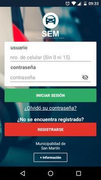SEM San Martín poster
