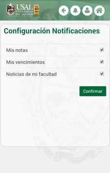 USAL - Gestión Académica apk screenshot