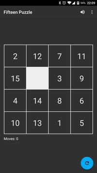 Fifteen Puzzle apk screenshot