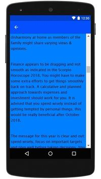2018 Horoscope screenshot 5