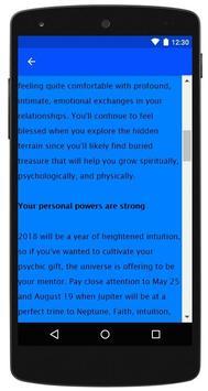 2018 Horoscope screenshot 2