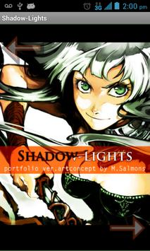Graphic Art Book Shadow-Lights poster