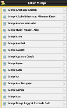 Tafsir Mimpi apk screenshot