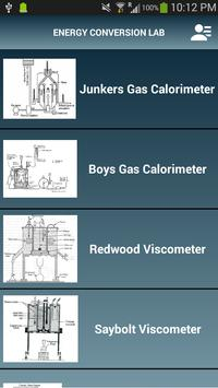 Energy Conversion Lab - Demo poster