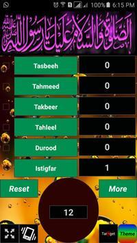Dhikr Counter /Tasbeeh Counter apk screenshot