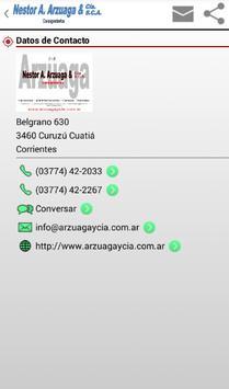 Néstor A. Arzuaga y Cía. S.C.A screenshot 1