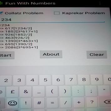 Fun With Numbers apk screenshot