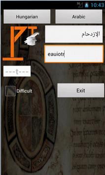 Arabic Hungarian Dictionary screenshot 5