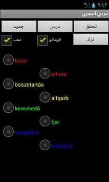 Arabic Hungarian Dictionary screenshot 9