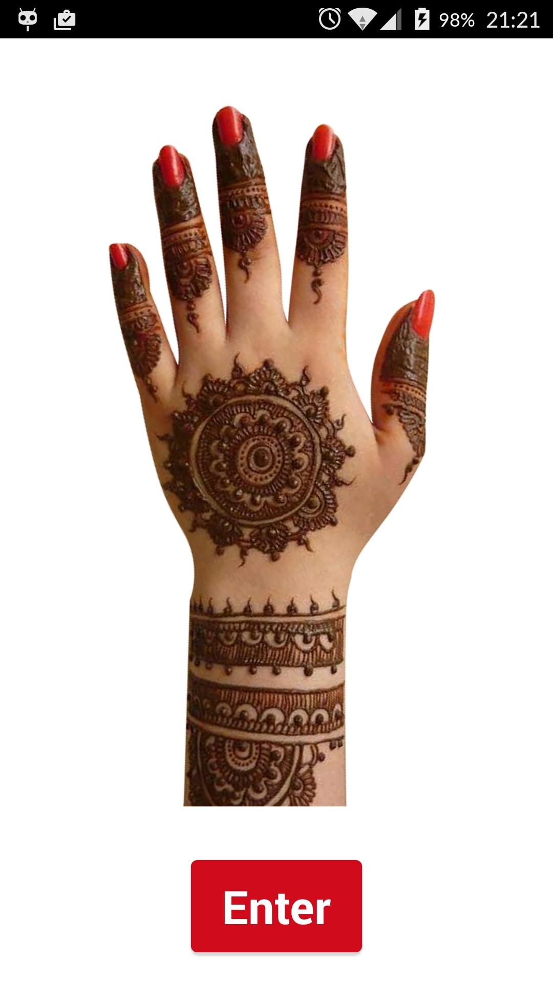 Mehndi Wzory Z Henny Tatuaż For Android Apk Download