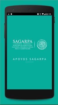 Apoyos SAGARPA poster