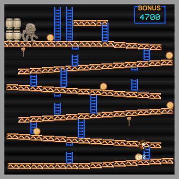 arcade monkey kong screenshot 4